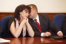 Renata Vesecká přemístila pět žalobců.