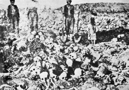 Výsledek obrázku pro arménská genocida