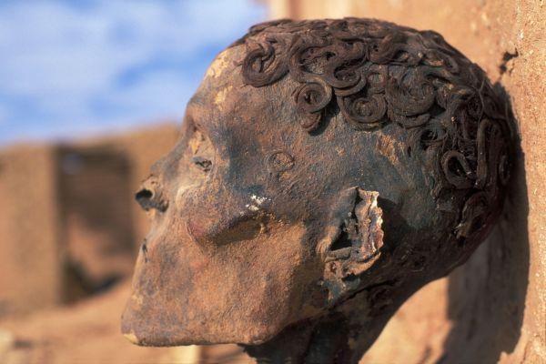 uhlíkové datovania múmie