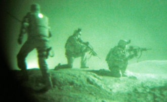 Americké speciální jednotky v akci proti talibům.