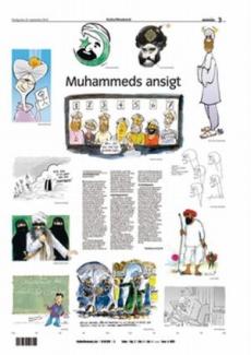 Karikatury Mohameda.