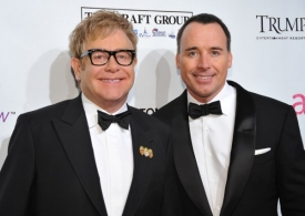 Elton John a David Furnish.