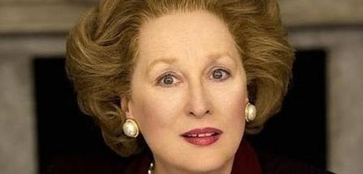 Meryll Streepová jako Maragret Thatcherová.