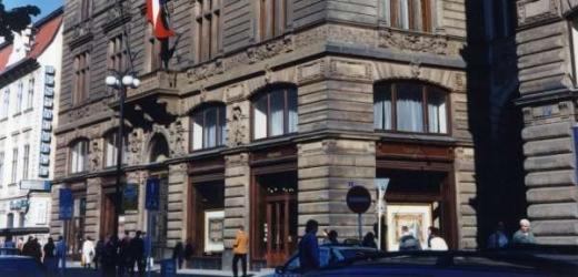 Sídlo UniCredit Bank v pražské ulici Na Příkopě.