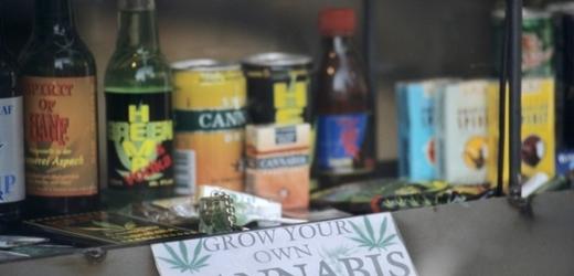 Policie zabavila zboží z dalšího Amsterdam shopu (ilustrační foto).