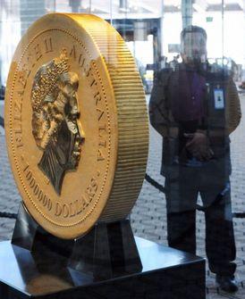 Na jedné straně mince je podobizna britské královny Alžběty II., na druhé obrázek klokana.
