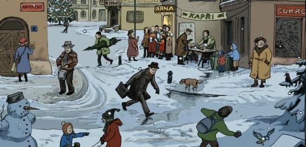 adventni kalendar 2013 Česká televize nadělila dětem Interaktivní adventní kalendář  adventni kalendar 2013