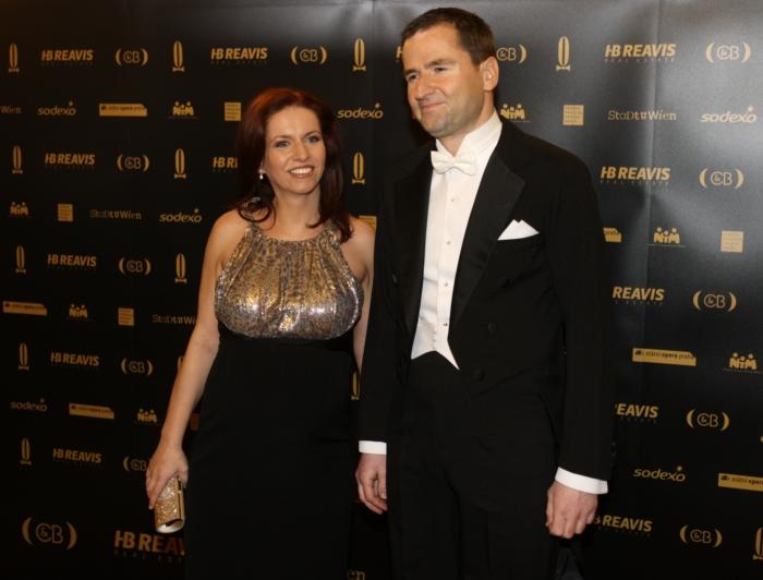 Těhotná Nora Fridrichová s Robertem Zárubou.