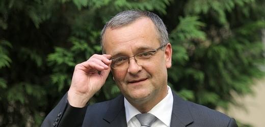Miroslav Kalousek (TOP 09), ministr financí.