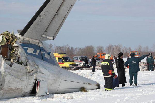 Na palubě dvoumotorového turbovrtulového stroje ATR-72 společnosti UTair, který směřoval do západosibiřského Surgutu, bylo 39 pasažérů a čtyři členové posádky.