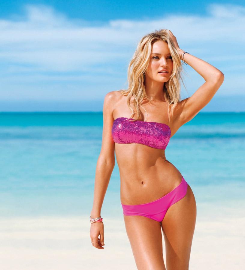 308bd03b3 OBRAZEM: Sexy modelka Candice v plavkách Victoria's Secret | Týden.cz