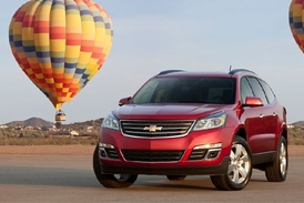 Chevrolet a jeho model Traverse.