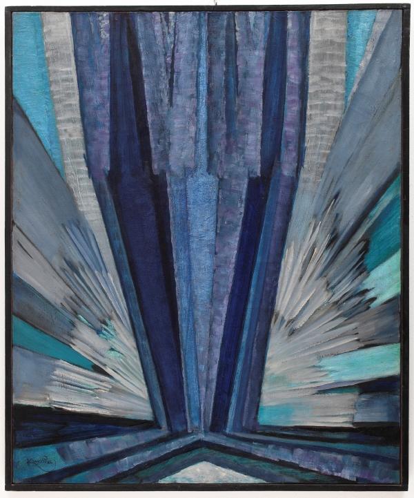 Obraz Františka Kupky Tvar modré se na aukci v Praze prodal za 55,75 milionu korun a stal se celosvětově nejdražším dílem českého umění prodaným v aukci. Cena překonala i zahraniční aukční rekord Kupkova díla, kterou od loňska držel obraz Pohyb prodaný v Londýně za cenu téměř 44 miliony včetně aukčních poplatků.
