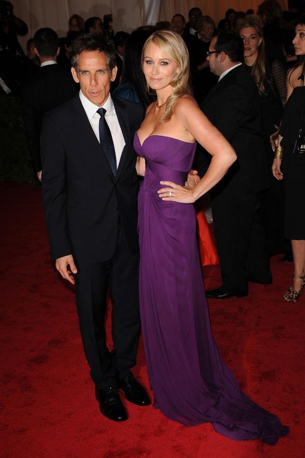 ae4c110f296 Na desátém místě skončil podle Forbesu herec Ben Stiller. Na snímku s  manželkou Christine Taylorovu