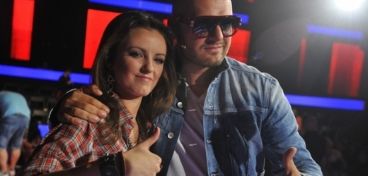 Anna Veselovská se zpěvákem Rytmusem.