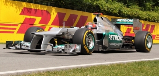Michael Schumacher v mercedesu.