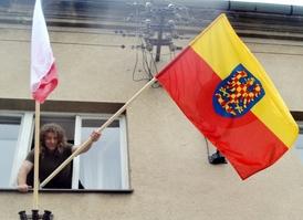 Moravskou vlajku vyvěšuje i starosta Jaroslav Sívek.
