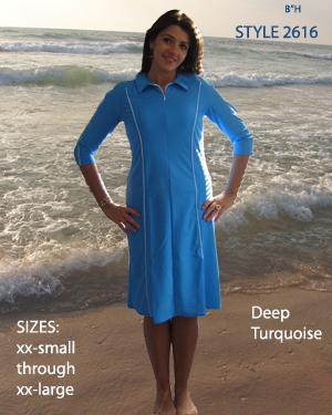 Aqua Modesta nabízí plavky zakrývající větší část těla.