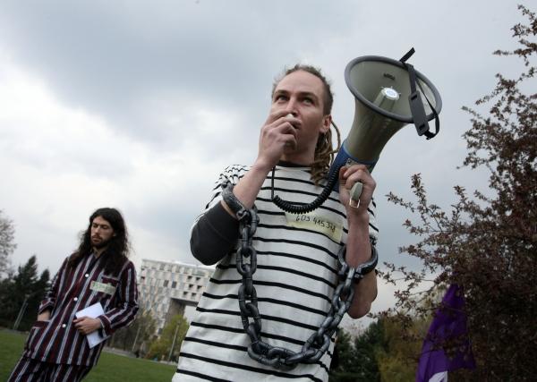 Pirátská strana o sobě nechala v minulosti slyšet při dubnových protestech.