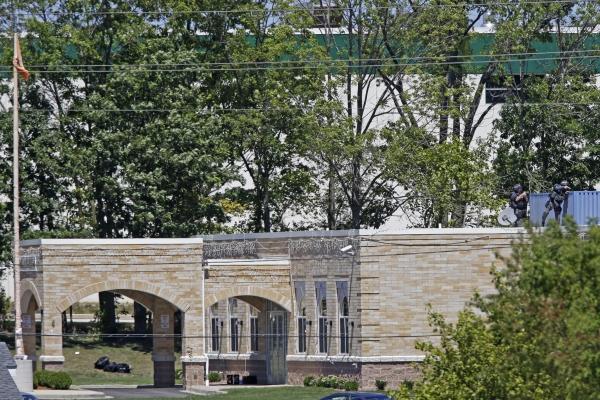 Sikhský chrám ve Wisconsinu, kde se střelba odehrála.