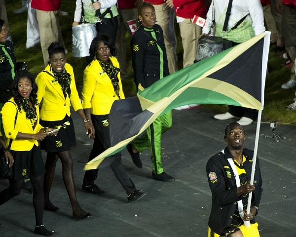 Jamajka, jejíž kolekci navrhla dcera Boba Marleyho, také sklidila velký obdiv pro tradiční barvy.