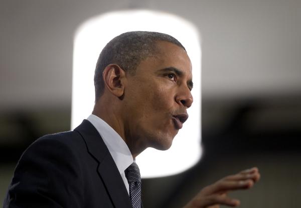 Nynější šéf Bílého domu Barack Obama.
