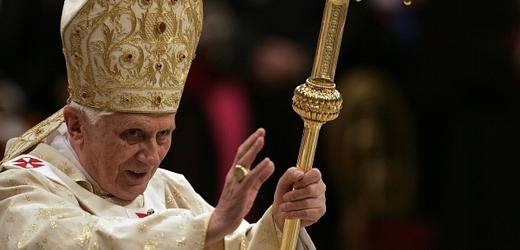 Odstupující papež Benedikt XVI.