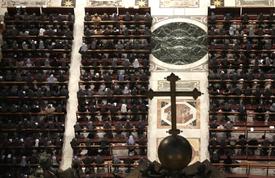 Církevní reálie náhle média okouzlily (ilustrační foto).