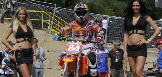 Nizozemský motokrosař Jeffrey Herlings.