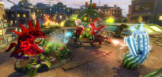 Plants vs. Zombies: Garden Warfare.