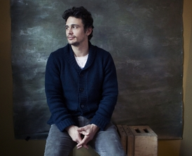 Herec, režisér a producent James Franco.