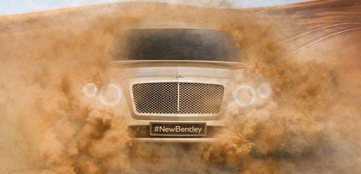 SUV značky Bentley je zatím zahaleno tajemstvím.
