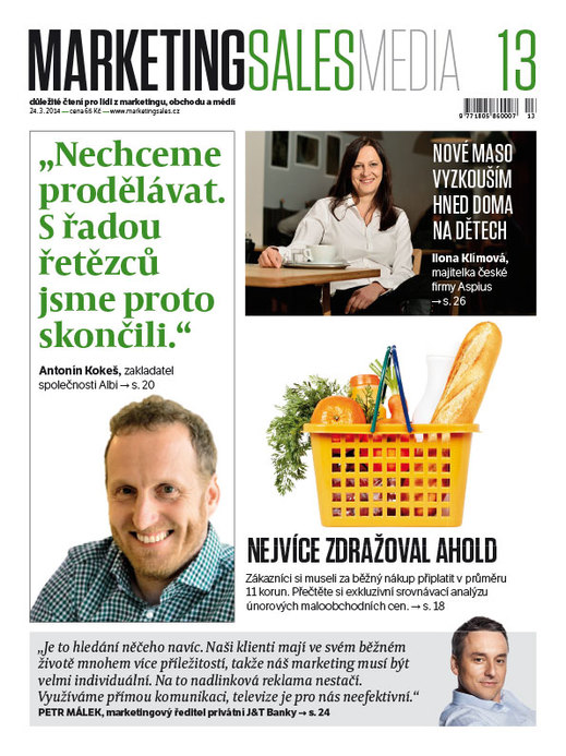 MarketingSalesMedia č. 13/2014.