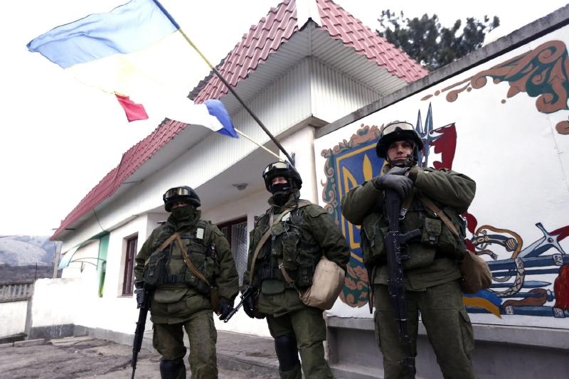 Výsledek obrázku pro zelení mužíci Krym
