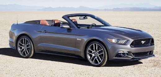Ford Mustang Convertible.