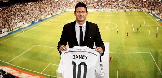 James Rodríguez, nová posila Realu Madrid.