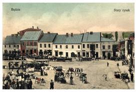 Będzin, městečko vzdálené ani ne sto kilometrů od Ostravy.