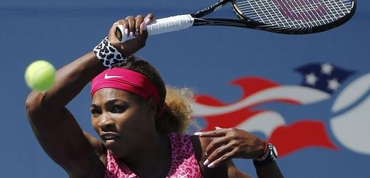 Serena Williamsová postupuje bez problému do 3. kola US Open.