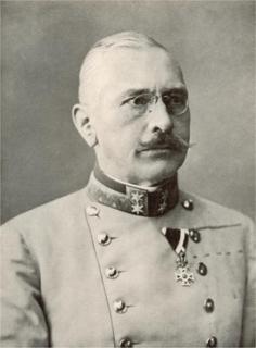 Generál Viktor Dankl.