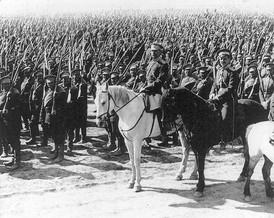 Je nás mnoho, ruská armáda před bitvou o Halič.