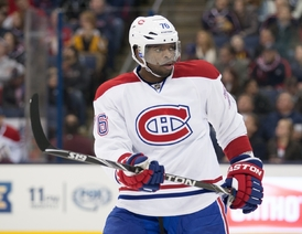 P. K. Subban, obránce Montrealu Canadiens.