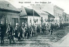 Marmarošská Sihoť na počátku války.