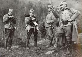 Rakouské vojsko na Haliči v roce 1914.