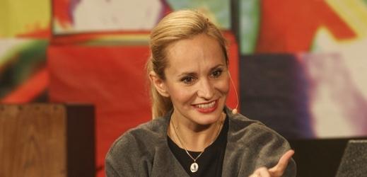 Monika Absolonová v pořadu 7 pádů Honzy Dědka.