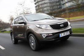 Ve hře je i model Kia Sportage.