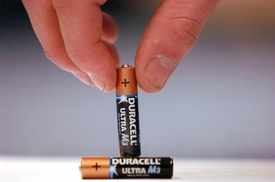 Baterie Duracell.