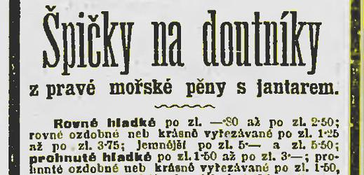 O škodlivosti tabáku se před sto lety mnoho nevědělo.