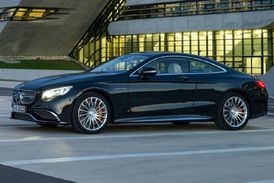 Mercedes-Benz S 65 AMG Coupe.