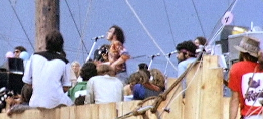 Joe Cocker na Woodstocku, 1969.