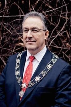 Rotterdamský primátor Ahmed Aboutaleb (53).